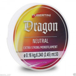 NYLON SPECIAL BAS DE LIGNE DRAGON NEUTRAL TUBERTINI