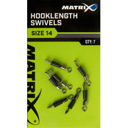 ACCROCHE BAS DE LIGNE HOOKLENGTH SWIVELS MATRIX