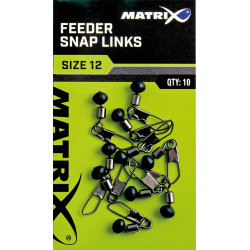 PERLE A AGRAFE FEEDER SNAP LINKS MATRIX