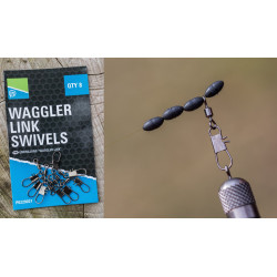 EMERILLON WAGGLER LINK SWIVELS PRESTON INNOVATIONS