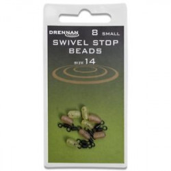 EMERILLON AVEC PROTECTION SWIVEL STOP BEADS DRENNAN