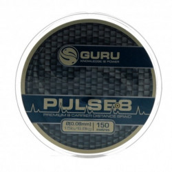 TRESSE PULSE-8 BRAID 150M  GURU