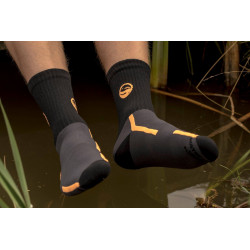 CHAUSSETTE BLACK WATERPROOF SOCKS GURU