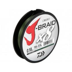 TRESSE DAIWA J BRAID X8 VERTE 150m DAIWA