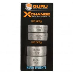 PLOMB POUR FEEDER X-CHANGE GURU