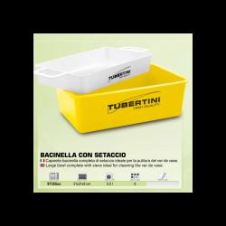 BASSINE + TAMIS SPECIAL VASEUX TUBERTINI