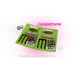 ANTENNES LUMINEUSES (LIGHT STICK) LOT DE 2 FUN FISHING