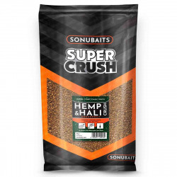 AMORCE SUPERCRUSH HEMP & HALIBUT 2 KG SONUBAITS