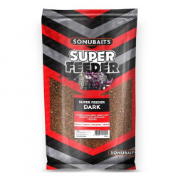 AMORCE SUPER FEEDER DARK 2KG SONUBAITS