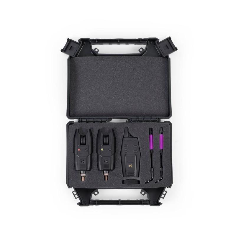Nouveau Korum KBI-R 2 Rod alarme présentation Set K0360032
