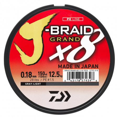 TRESSE 8 BRINS J-BRAID GRAND DAIWA