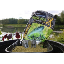 AMORCE GROS POISSON CHAMPION'S METHOD MUSSEL GREEN 1KG BROWNING
