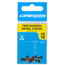 EMERILLON A AGRAFE SUR PERLE FREE RUNNING SWIVELS STRONG CRESTA