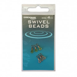 PERLES A EMERILLON 4mm SWIVEL BEADS DRENNAN