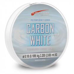 FLUOROCARBONE CARBONE WHITE 50M TUBERTINI